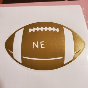Foot Ball Decal